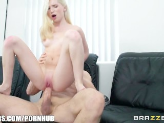 Perfect Blonde With Braces Takes Huge Dick – Brazzers