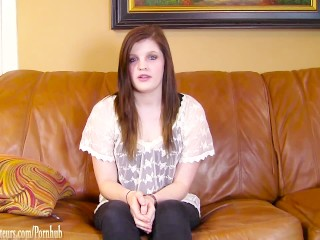 Teen With Braces Smashed Rough On Casting Couch