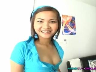Teener Asian Girl With Braces Lets Stranger Danger Shove Penis In Her Mouth