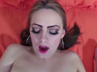 Teen With Braces And Puffy Breasts Orgasm Face