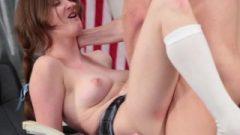InnocentHigh – Shy School-Girl Bangs Her Speech Teacher
