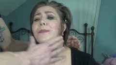 Riley Jane Receives Her Face Abused